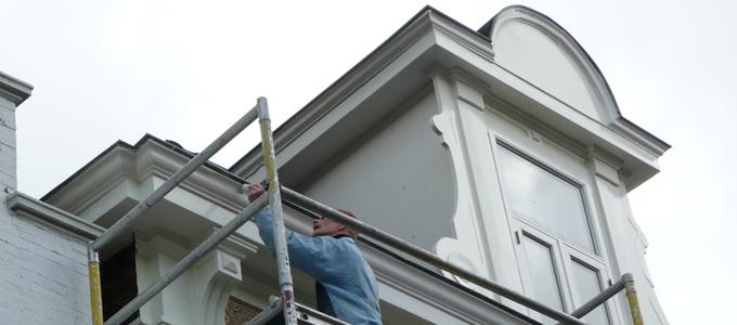 Restauratie diverse schildersbedrijf tilburg hagen van for Goede behanger